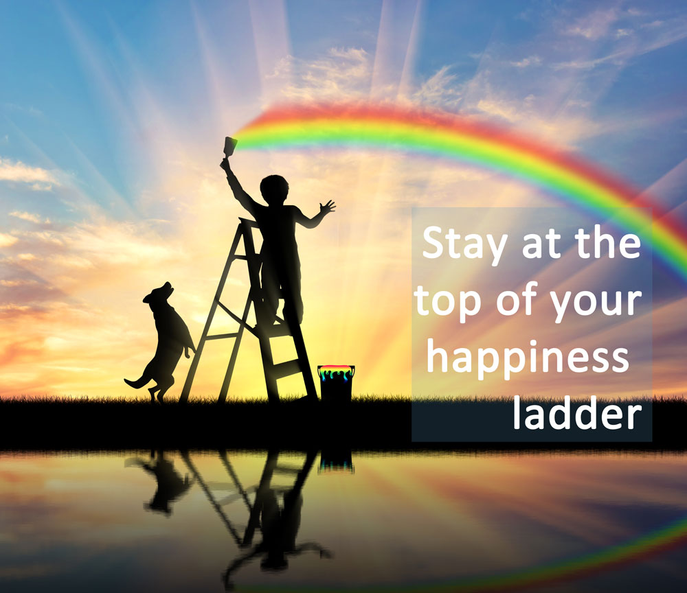 happiness-ladder